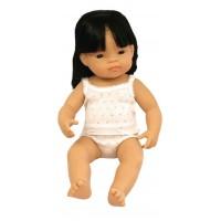 Papusa fetita asiatica Miniland, 38 cm, 1 an+