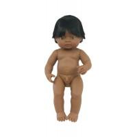 Papusa Latinoamerican Baiat Miniland, 38 cm, 3 ani+