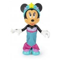Papusa Minnie cu accesorii Fantasy Mermaid, 2 rochii incluse, 3 ani+