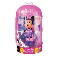 Papusa Minnie cu accesorii - La sport, 25.6 x 15.5 cm, 3 ani+
