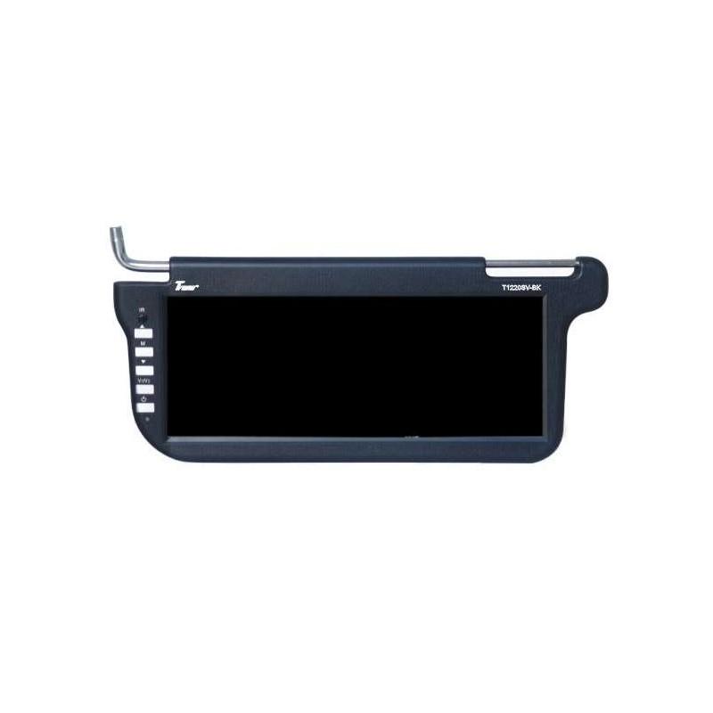 Parasolar auto video, 12 inch, interfata USB, SD card 2021 shopu.ro