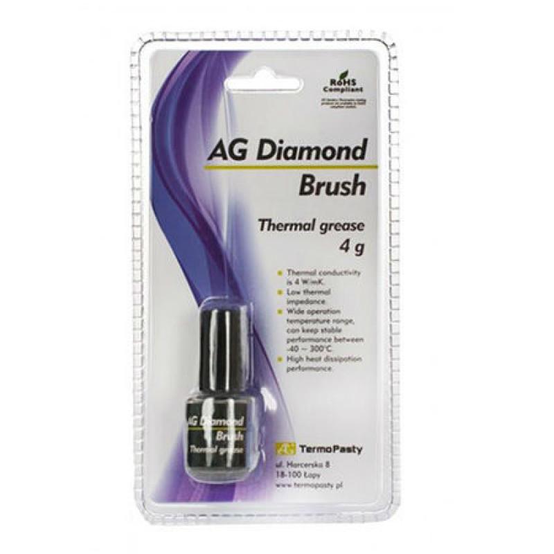 Pasta termoconductoare pe baza de praf de diamant Diamond Brush, 4 grame shopu.ro