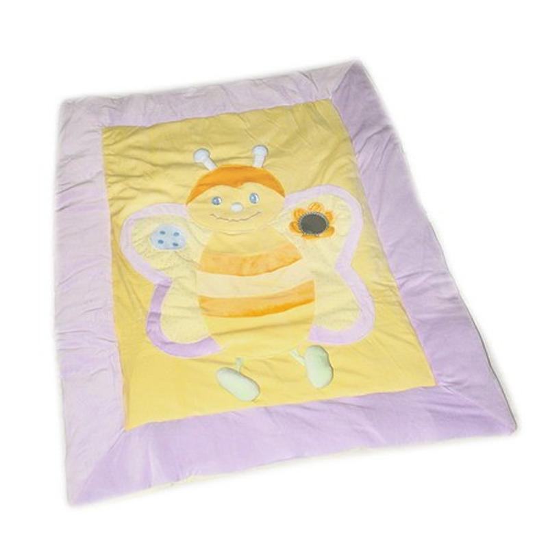 Patura Baby Playmat Bestoy, Unisex, Albinuta 2021 shopu.ro