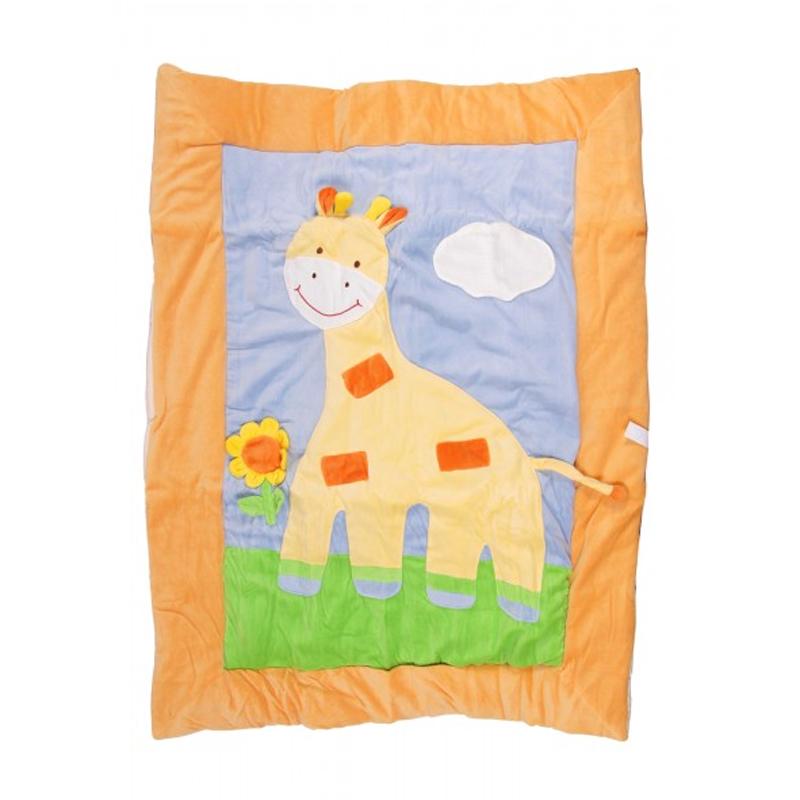 Patura Baby Playmat Bestoy, Unisex, Girafa 2021 shopu.ro