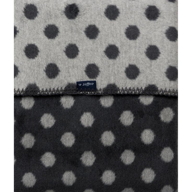 Paturica bebelusi Bumbac Womar Zaffiro, 75 x 100 cm, 0 luni+, negru 2021 shopu.ro