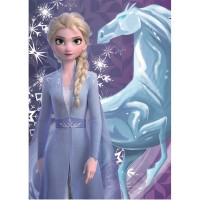 Paturica copii SunCity, model Frozen 2 Elsa, 100 x 140 cm, 0 luni+