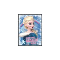 Paturica poliester copii SunCity, 90 x 120 cm, model Frozen Plush
