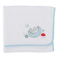 Paturica pufoasa din fleece Comfi Love Hedgehog, 90 x 70 cm