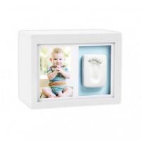 Set amintiri bebelusi Pearhead, 10 x 15 cm, cutie inclusa, Alb