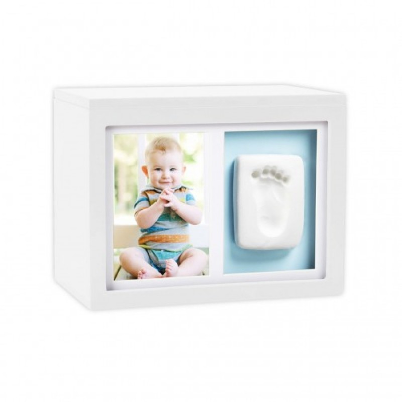 Set amintiri bebelusi Pearhead, 10 x 15 cm, cutie inclusa, Alb 2021 shopu.ro
