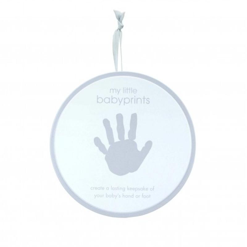 Cutie pentru mulaj bebelusi Pearhead, 15 cm, Gri