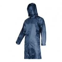 Pelerina ploaie cu nasturi si fermoar Lahti Pro, marimea 2XL, albastru