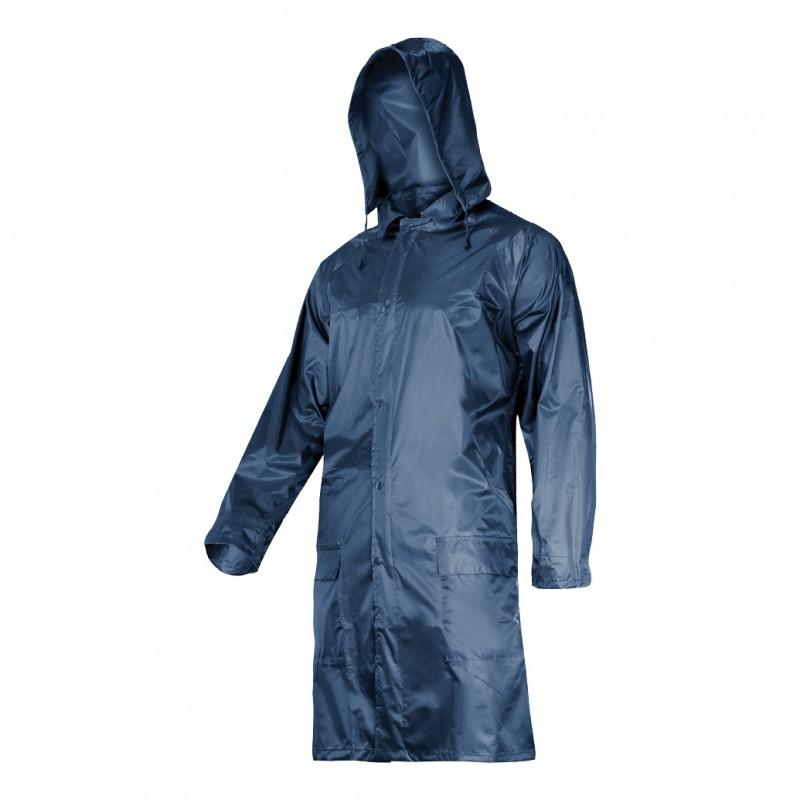 Pelerina ploaie cu nasturi si fermoar Lahti Pro, marimea M, albastru 2021 shopu.ro