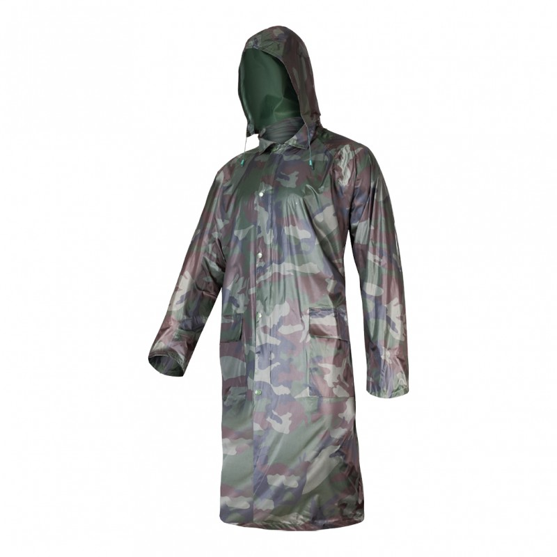 Pelerina ploaie cu nasturi si fermoar Lahti Pro, marimea XL, army 2021 shopu.ro