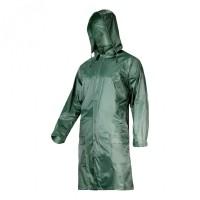 Pelerina ploaie cu nasturi si fermoar Lahti Pro, marimea XL, verde