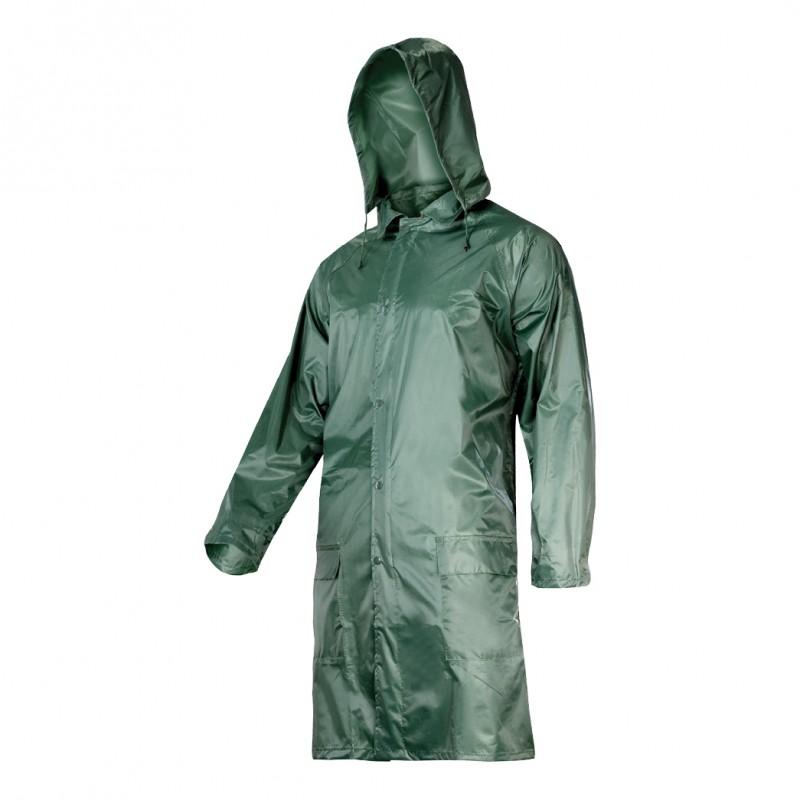 Pelerina ploaie cu nasturi si fermoar Lahti Pro, marimea XL, verde 2021 shopu.ro