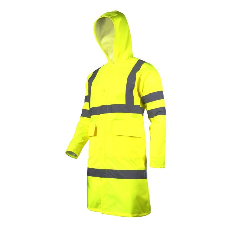 Pelerina ploaie reflectorizanta Lahti Pro, marimea XL 2021 shopu.ro