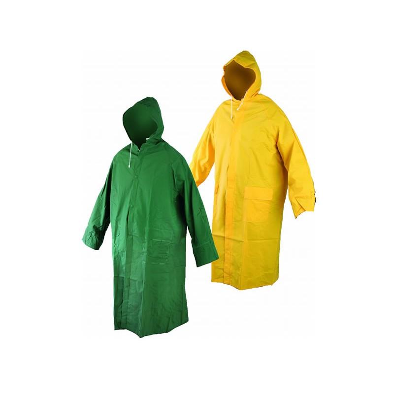 Pelerina de ploaie stil poncho, lungime 120 cm, Galben 2021 shopu.ro