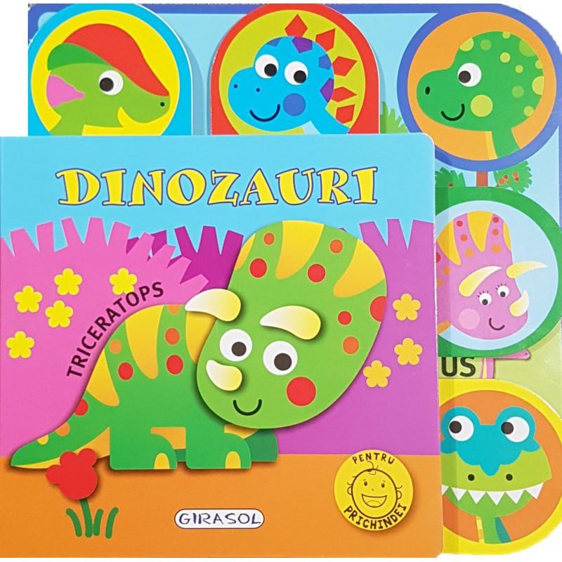 Carte Dinozauri Girasol, 10 pagini, 12 luni+ 2021 shopu.ro