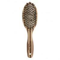 Perie Healthy Hair Eco Bambus Olivia Garden, tehnologie ionica, invelis ceramic
