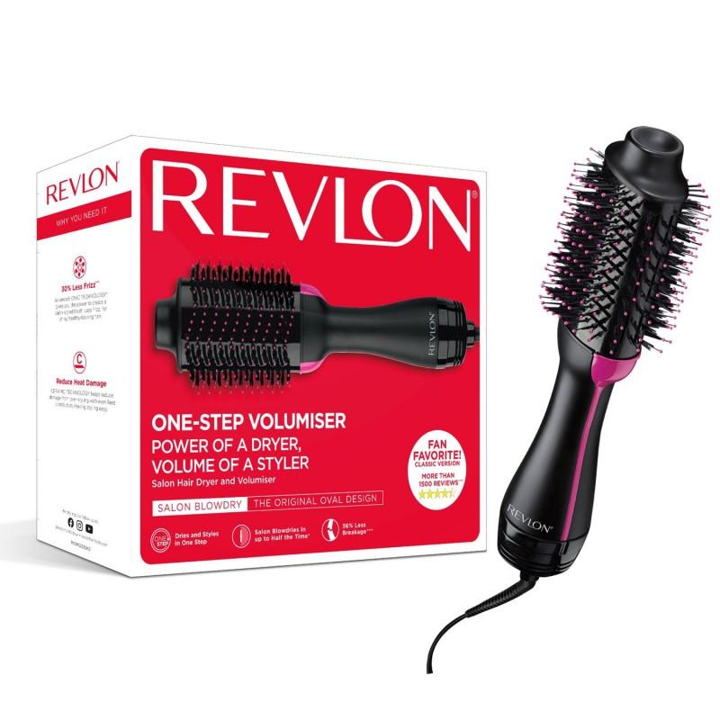 Perie electrica de par Revlon One-Step Hair Dryer & Volumizer, 3 trepte, ceramica, cablu 2.5 m, ionizare 2021 shopu.ro