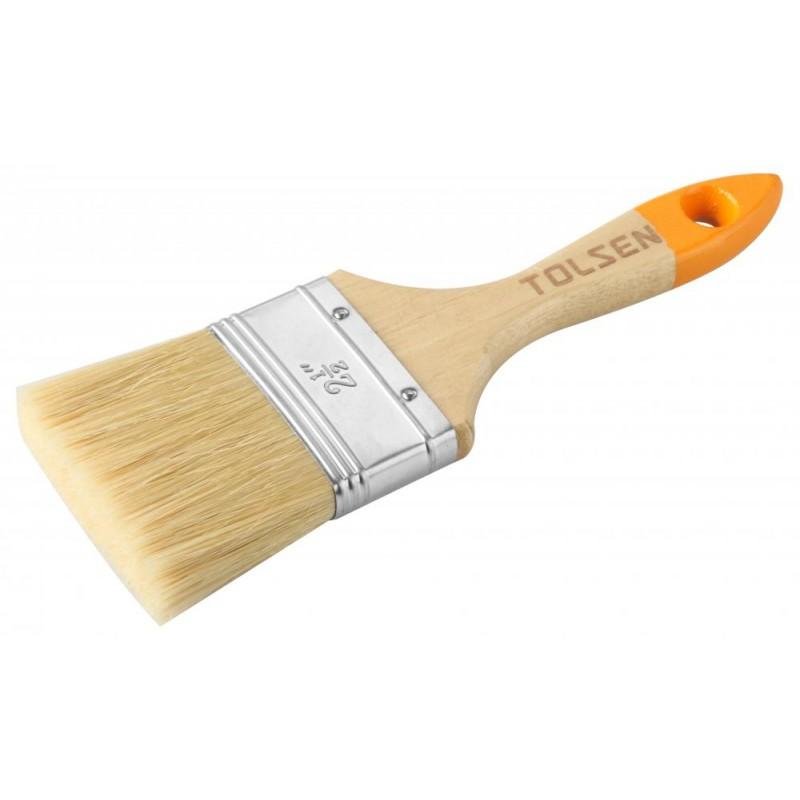 Pensula de vopsea Tolsen, 51 x 14.5 mm, maner lemn shopu.ro