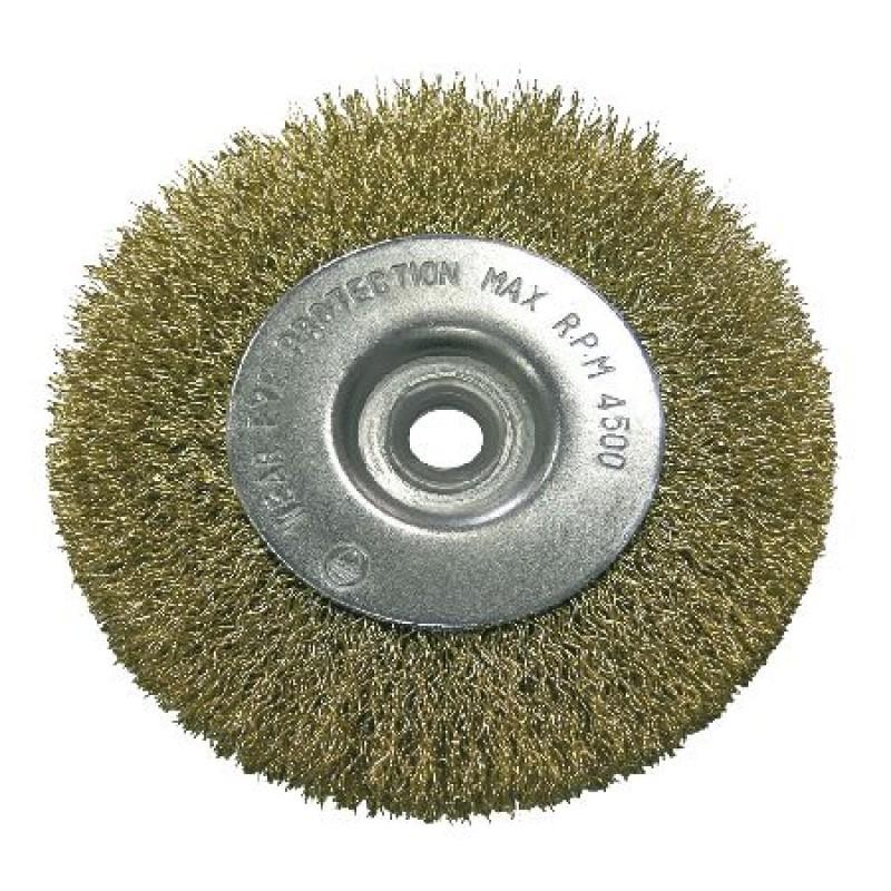 Perie sarma de alama Proline, 75 mm, tip circular cu orificiu 2021 shopu.ro