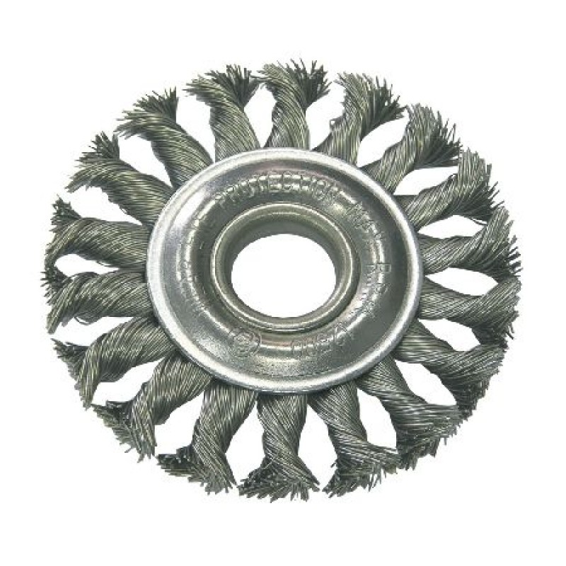 Perie sarma impletita cu orificiu Proline, tip circular, 150 mm