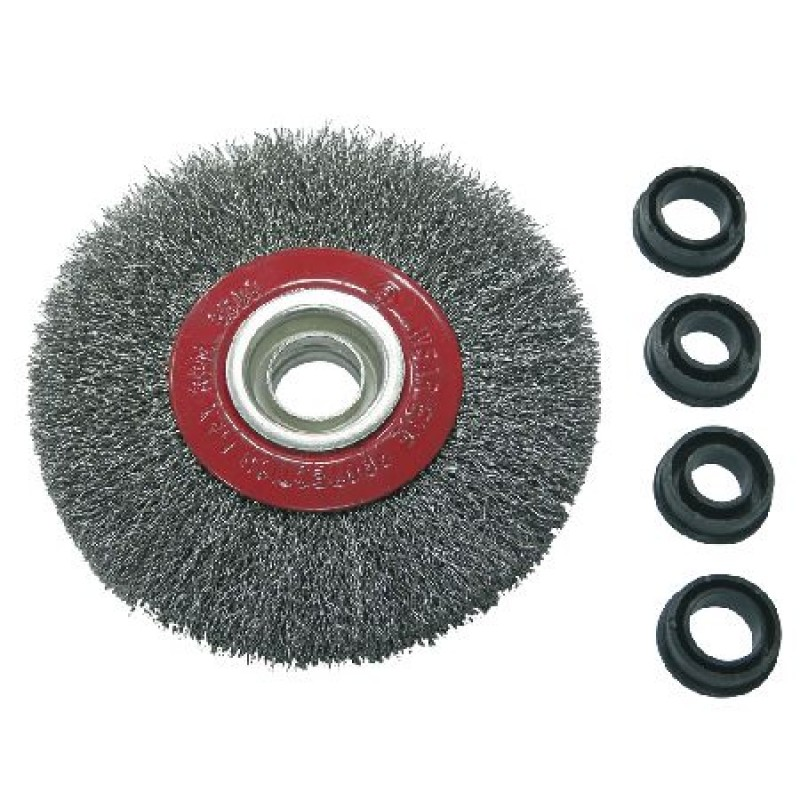 Perie sarma cu orificiu Proline, tip circular, 125 mm shopu.ro