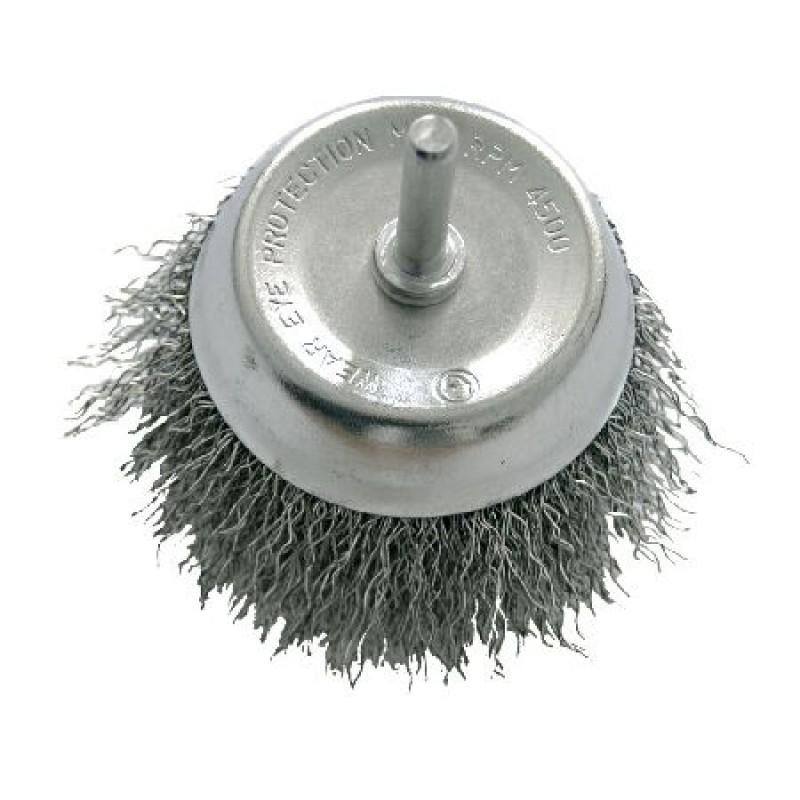 Perie sarma cu tija Proline, tip cupa, 100 mm 2021 shopu.ro