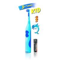 Periuta de dinti electrica Trisa Pro Clean Battery Kid, 6500 vibratii/min, roz