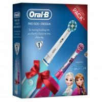 Periuta electrica Oral B PRO 500 Vitality Kids Frozen, 28800 oscilatii/min