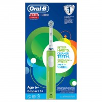 Periuta electrica Oral B Junior Green, peri extra moi, 6 ani+