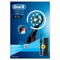 Periuta electrica Oral-B Pro 2 2500 Black, 40000 pulsatii/min