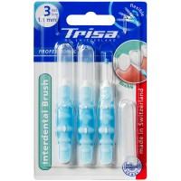 Set 3 periute interdentare Trisa, ISO 3 1.1 mm