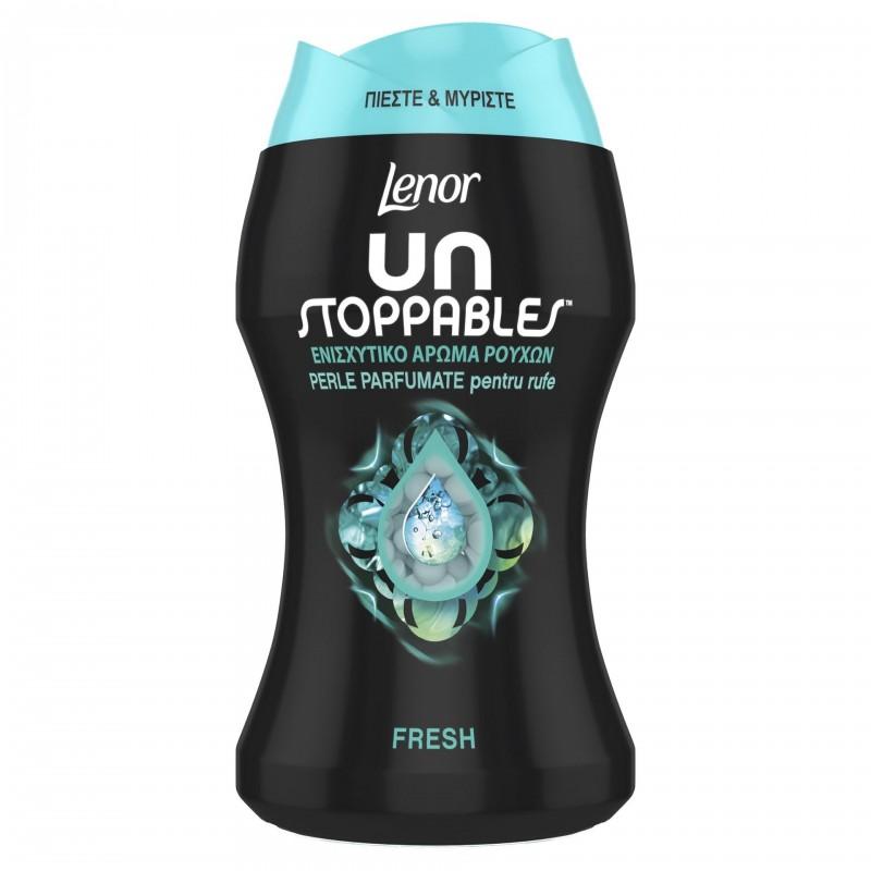 Perle parfumate pentru rufe Lenor Unstoppables Fresh, 140 g 2021 shopu.ro
