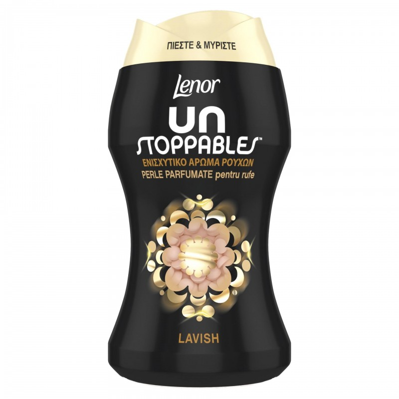 Perle parfumate pentru rufe Lenor Unstoppables Lavish, 140 g 2021 shopu.ro