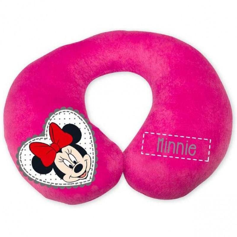 Perna pentru gat Minnie Disney Eurasia, Anatomica, Roz 2021 shopu.ro