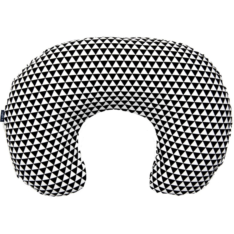 Perna pentru gravide si alaptat Comfort Exclusive Womar Zaffiro, 160 cm, alb egru 2021 shopu.ro