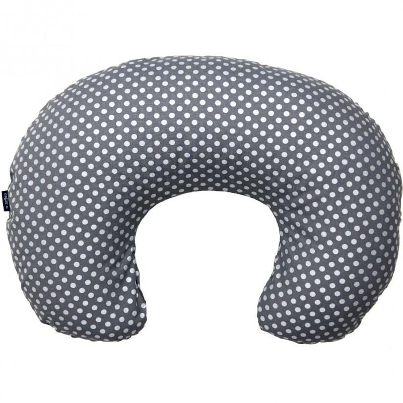 Perna pentru gravide si alaptat Comfort Exclusive Womar Zaffiro, 160 cm, gri 2021 shopu.ro