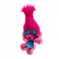 Perna plus in forma de Trolls, 36 cm, roz