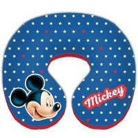 Perna suport pentru gat Mickey Mouse, 23 x 21 x 6.5 cm, 12 luni+