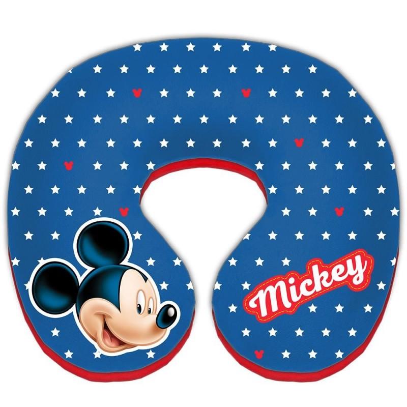 Perna suport pentru gat Mickey Mouse, 23 x 21 x 6.5 cm, 12 luni+ 2021 shopu.ro