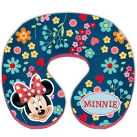 Perna suport pentru gat Minnie Mouse, 23 x 21 x 6.5 cm, 12 luni+