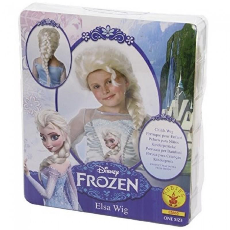 Peruca pentru fetite Elsa Rubies, 3 ani+ 2021 shopu.ro