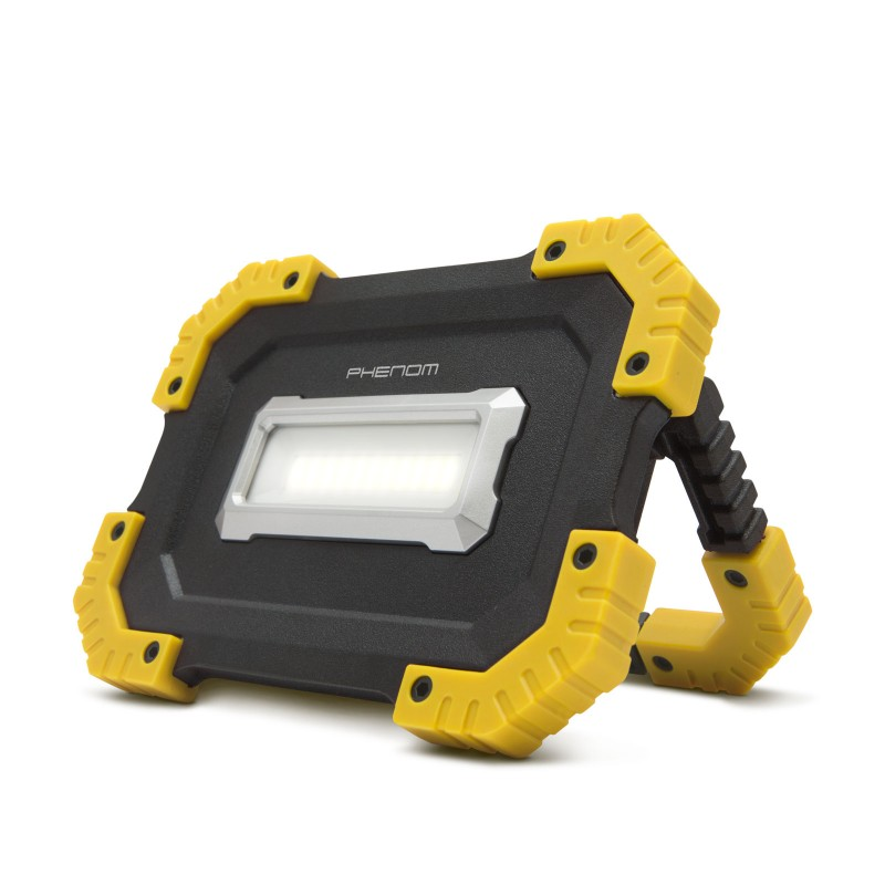 Reflector COB LED multifunctional Phenom, 16 W, 1000 lm, 2 x 2200 mAh, reincarcabil 2021 shopu.ro