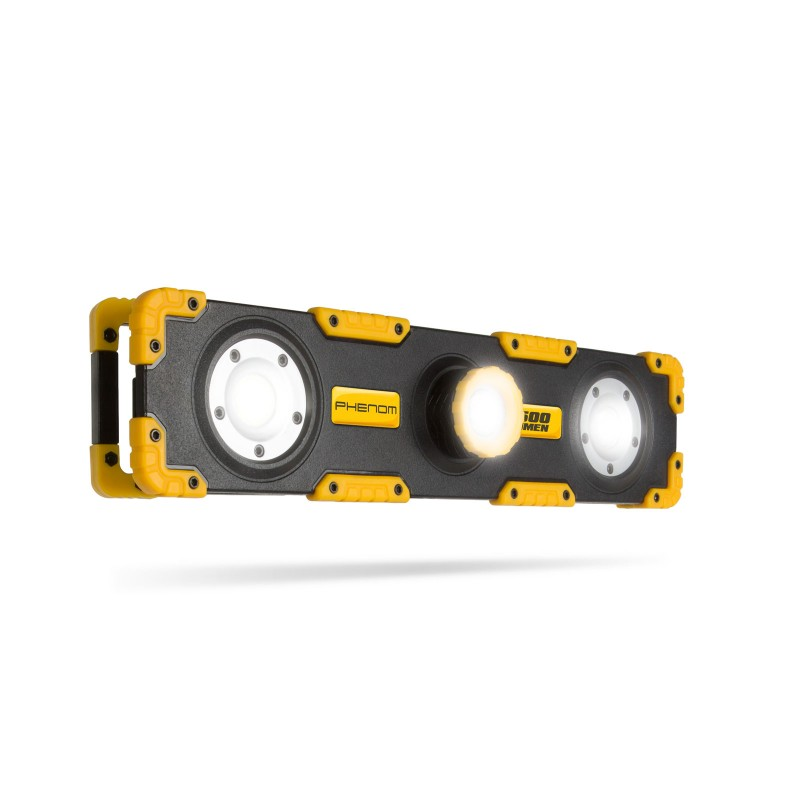 Reflector LED Phenom, 15 W, 1200 lm, 6500 K, acumulator Li-Ion, 2 x 2000 mAh, IP33 shopu.ro