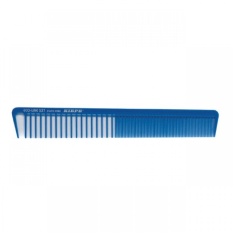 Pieptene Kiepe 537, fibra carbon, Albastru