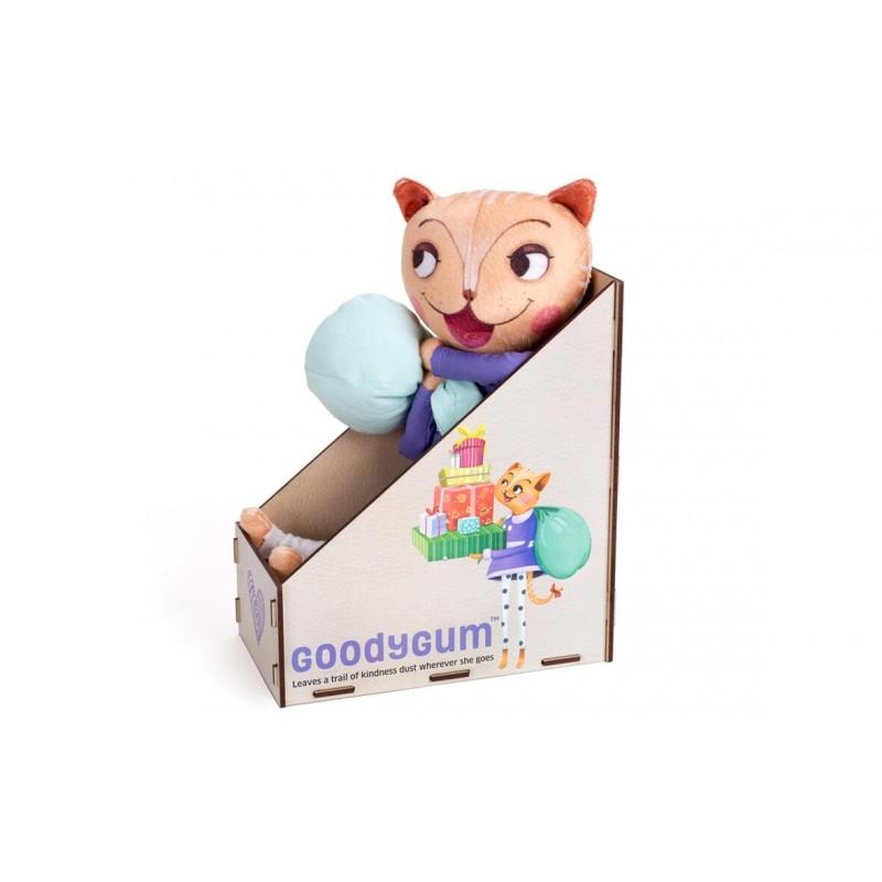 Pisicuta plus cu surprize Goodygum Chalk and Chuckles, 3 ani+
