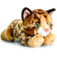 Pisicuta de plus Bengaleza, Keel Toys, 30 cm, 1 an+